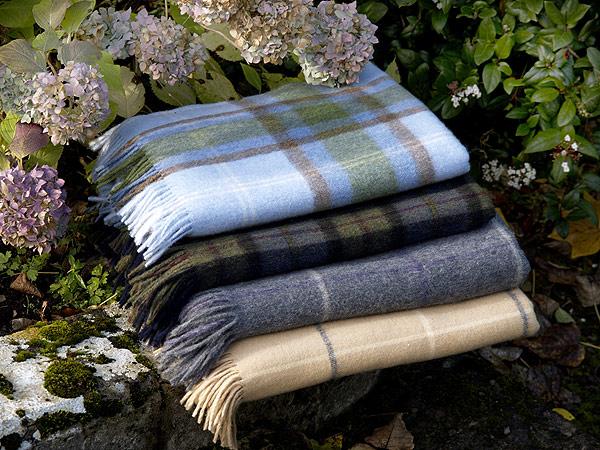 Irish Lambswool  Lap Blanket