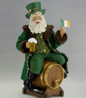 Irish Celtic Christmas Santa