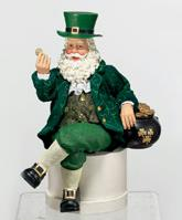 Christmas Irish Santa