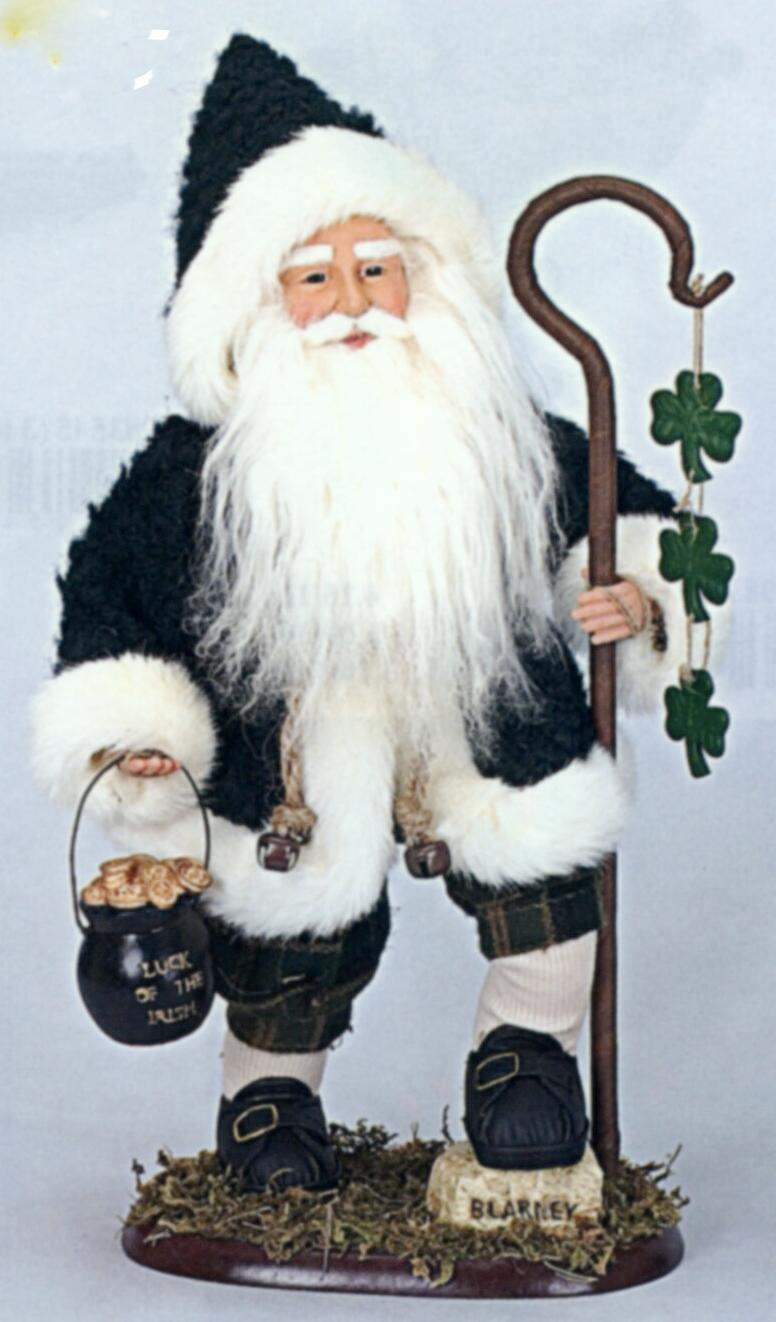 Irish Christmas Santa