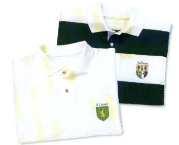 Irish Coat of Arms Polo Shirt