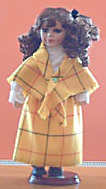 Handmade Irish Porcelain Doll