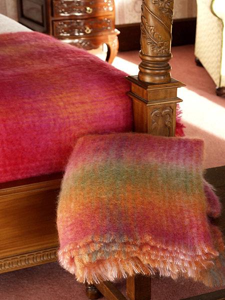 Medium Irish Mohair Throw/Blanket