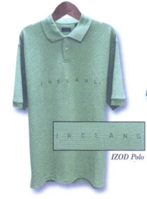Ireland Izod Golf Shirt