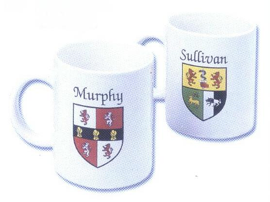 Irish Coat of Arms Coffee Mugs