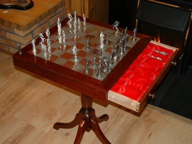 Mullingar Pewter Chess Table