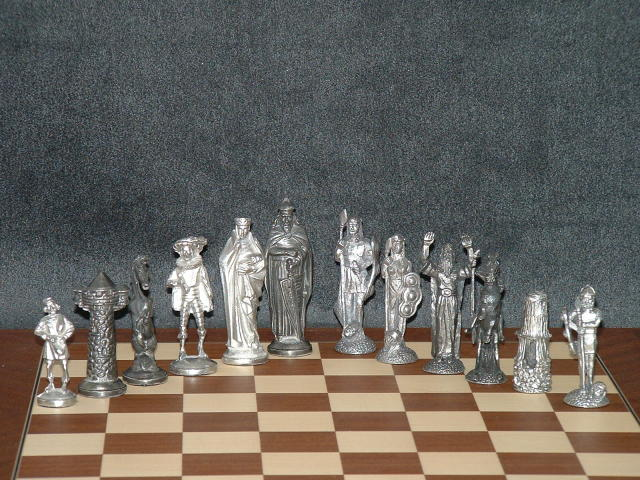 Mullingar Pewter Chess Set