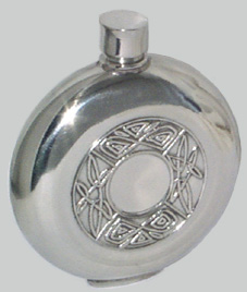 Mullingar Pewter Whisky Flask