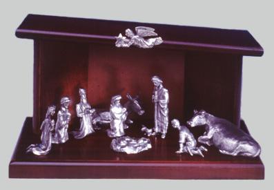 Mullingar Pewter Irish Nativity Set