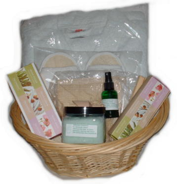 Deluxe Irish Aromatherapy Wellness Basket