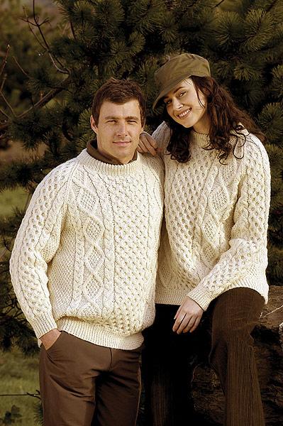 Handmade Irish Aran Sweaters
