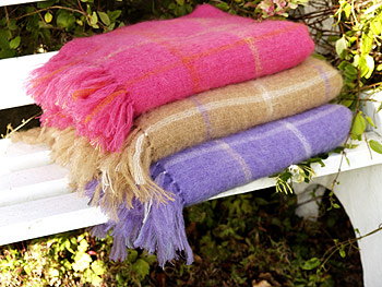 Irish Mohair Throw