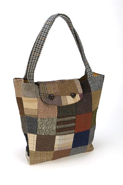 Hanna Hats Tweed Tote Bag